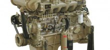 Marine Diesel Engine White